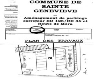 plan aménagement 1998